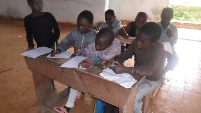 Evenxing school for orphans