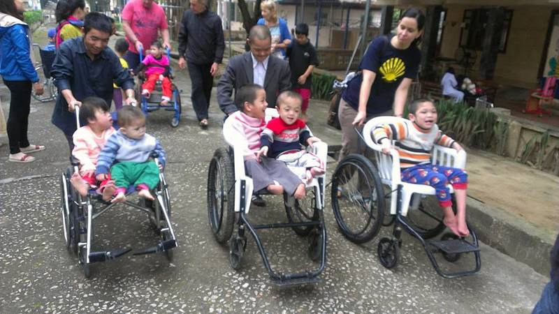 Ba Vi Disability Center Supporter