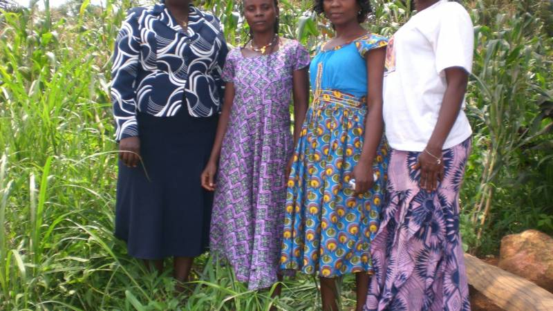 women in their farm