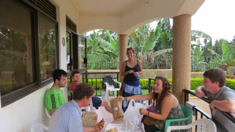 Kampala volunteer guest house