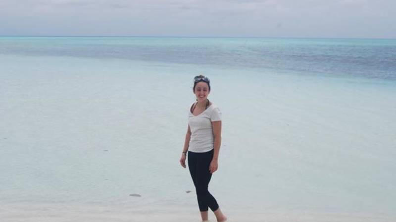 having a walk on white beaches