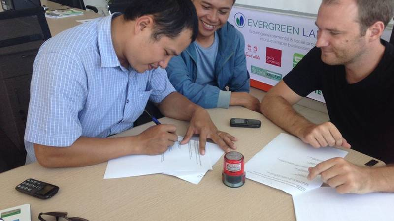 Signing Agreements