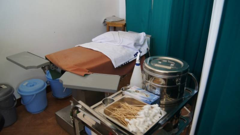 femal examination room