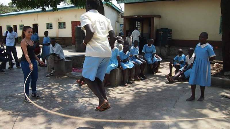 Play time with Juvenile children