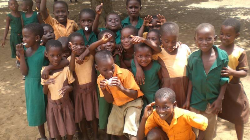 Such happy children