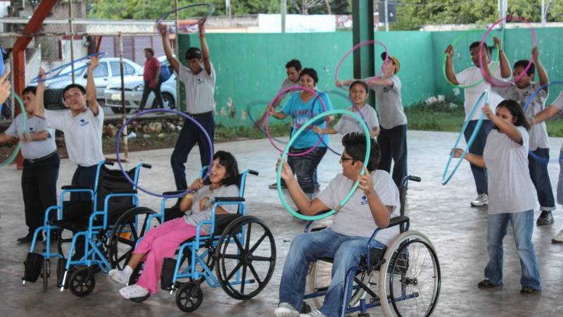 Caring for disabled people