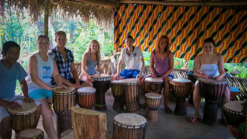 Get lost in the rhythm at the local drum school