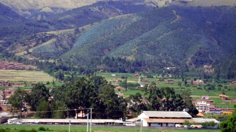 The project site near Cusco