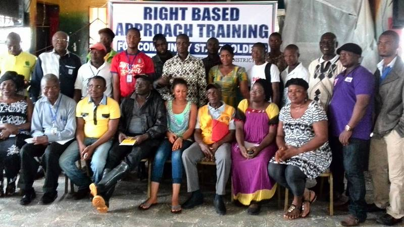 Building capacities of communities -water access