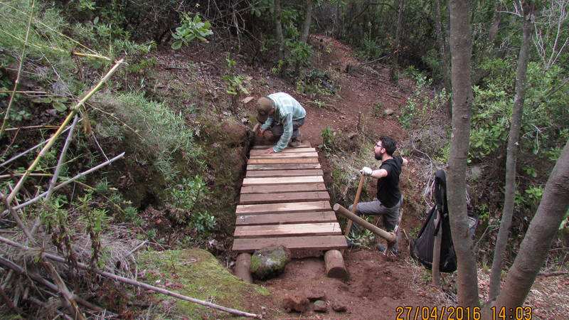 Trail Maintenance and reconstruction