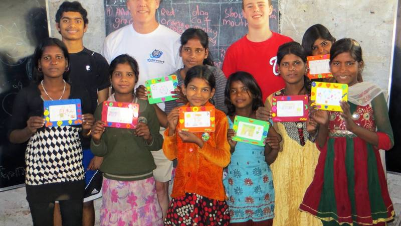 Volunteers with Kids - 1