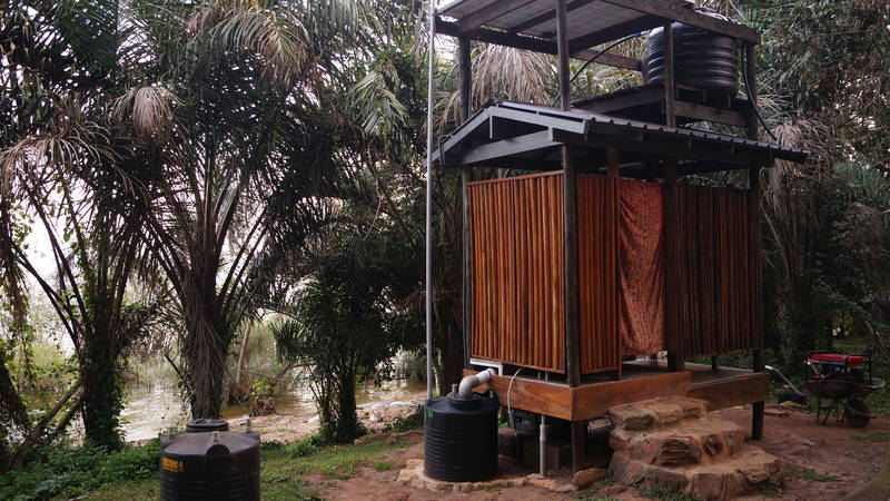 Our Shower and Toilet Composting System