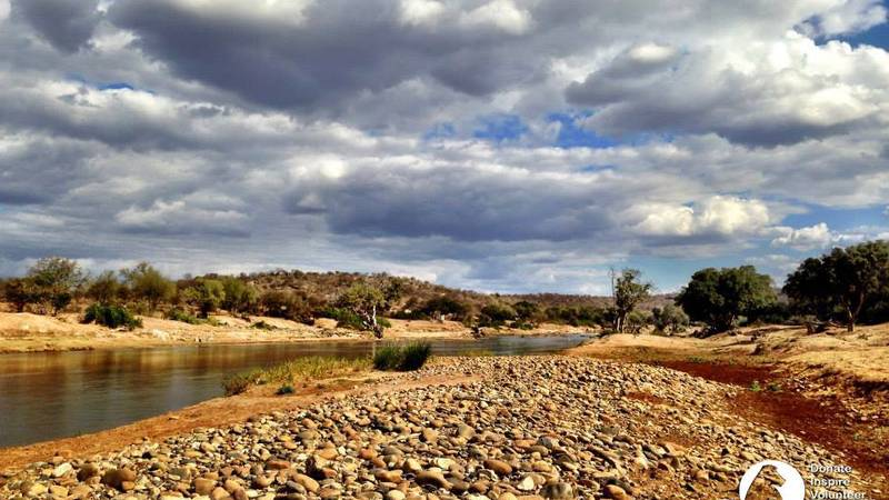The Olifants River, in front of C.A.R.E.