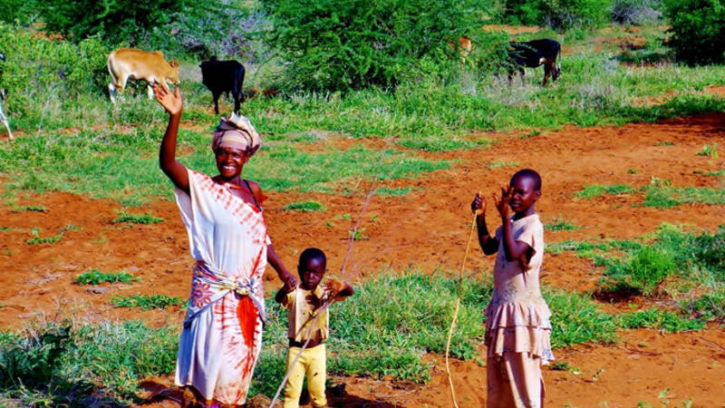 Rural village life