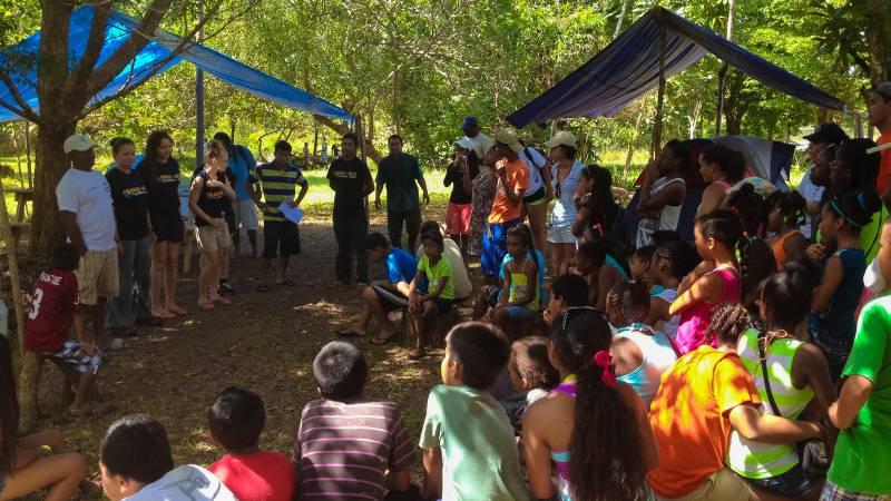 Engage with local schoolchildren