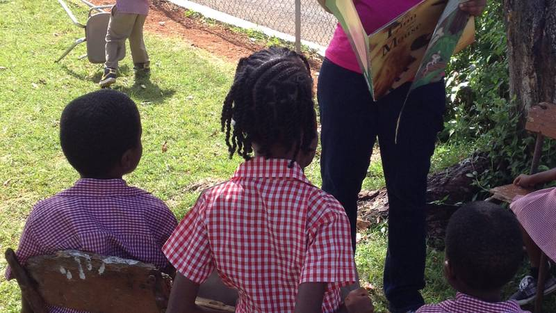 Storytime with children