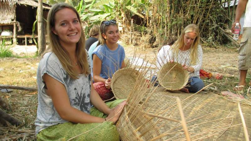Basket Weaving in the Community