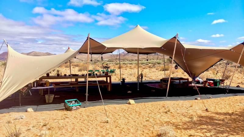Accomodation - main tent
