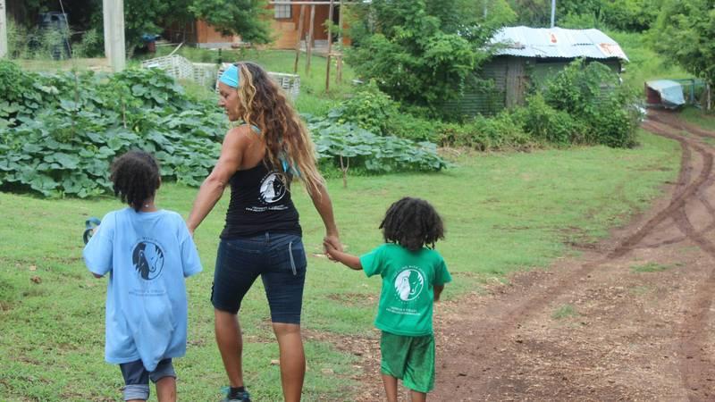 Help the children build up trust