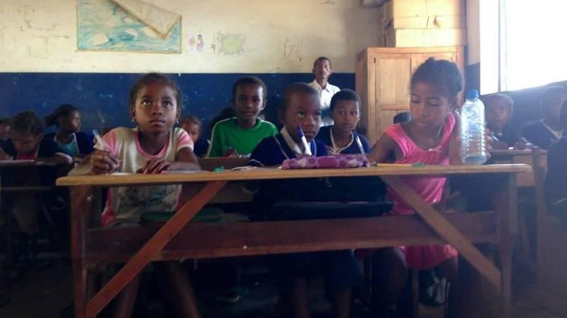 Teaching in Nosy Komba