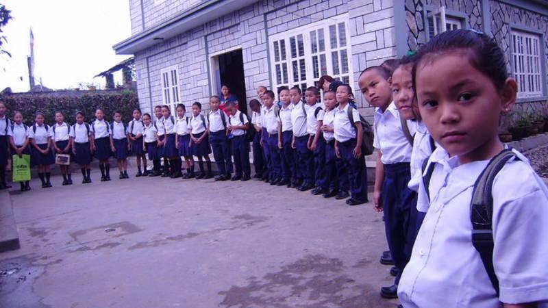 Children  ready to school
