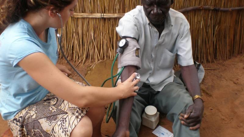 Givng medicial care