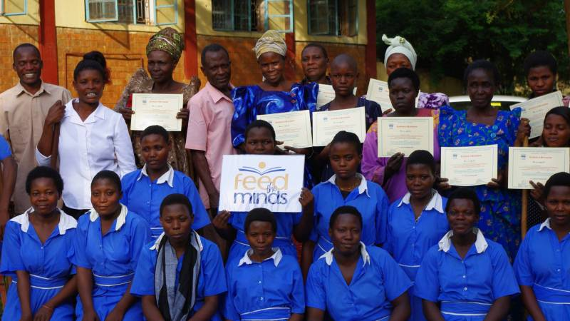 Disabled girls graduated as peer health trainers