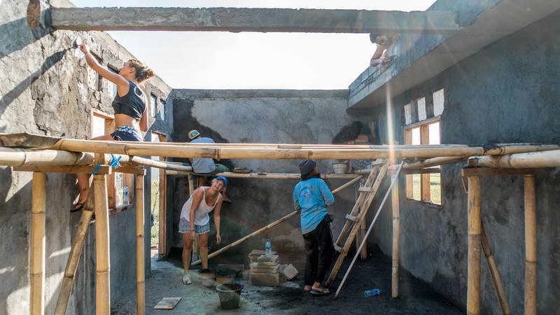 Building a Kindergarten Schoolhouse