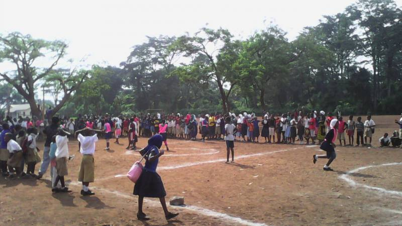 Inter competition for girls