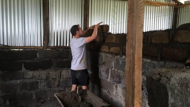 Building classroom walls