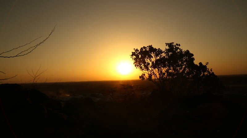 African Sun Sets