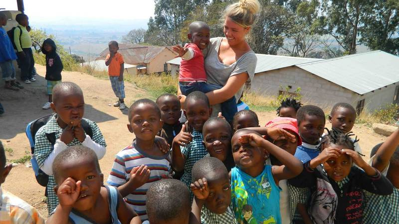 having time with the orphans