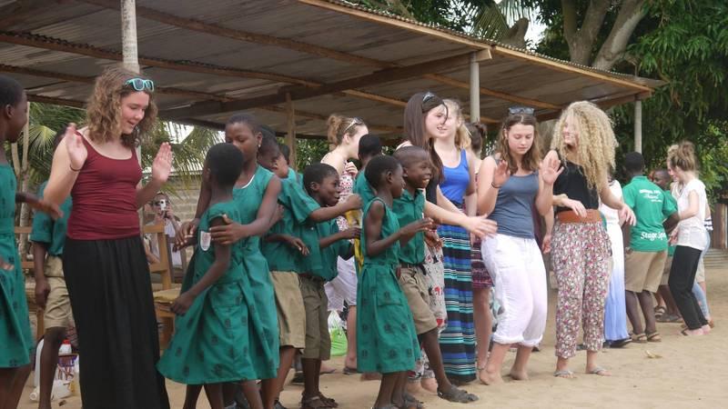 Ghanaian dancing