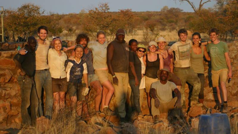 Typical volunteer team