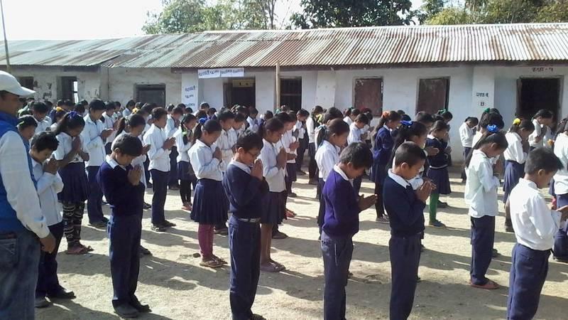 School Children in Villages