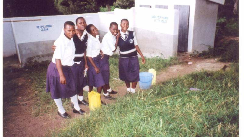 the secondary school girl students