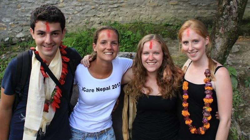 volunteers welcomed at village