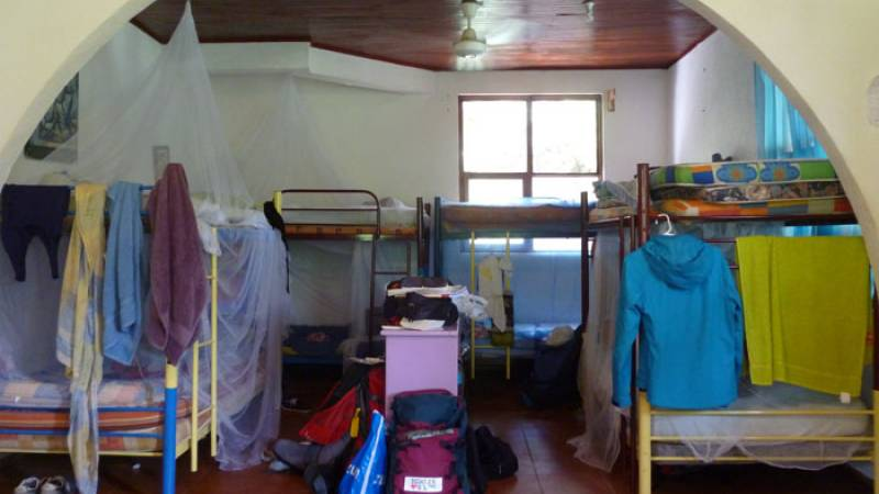 Dorm at the sea turtle project