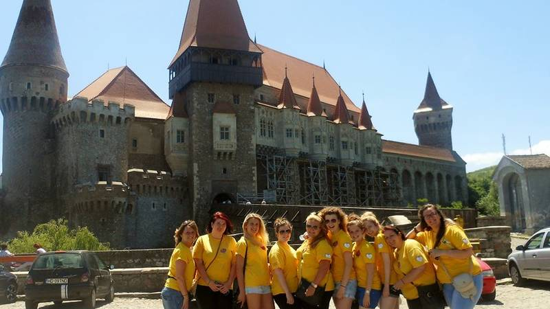 A day trip to Draculas Castle