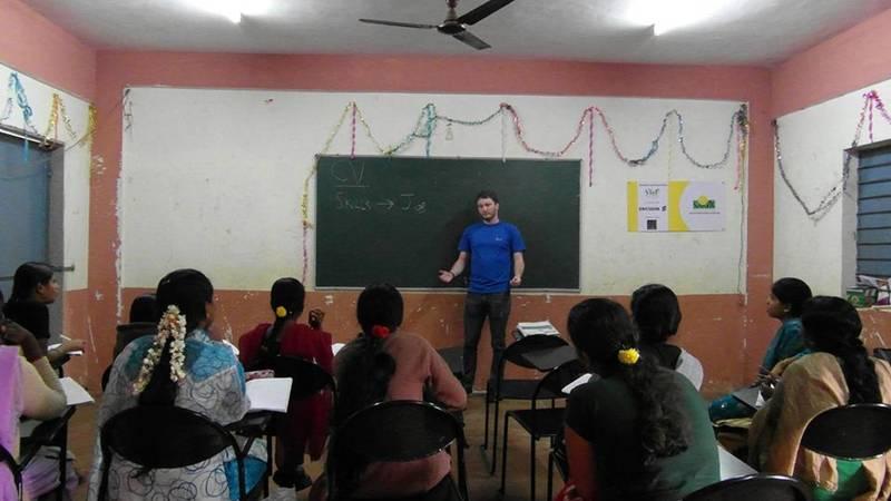 Teaching English in a rural school