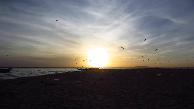 Beach at Lake Turkana