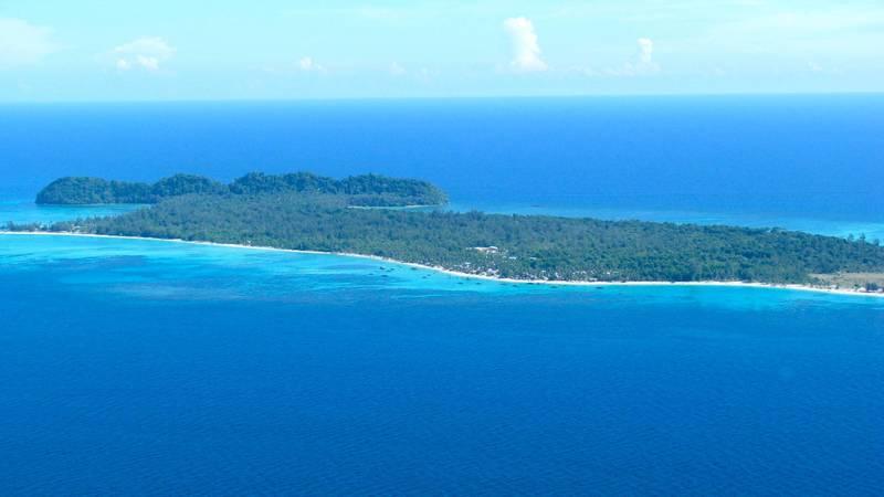 Mantanani Island Ariel Shot