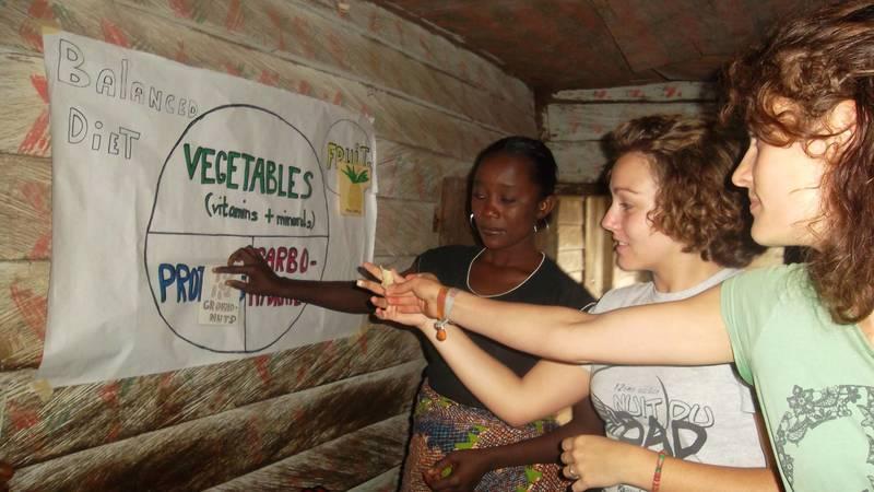 Training the local women