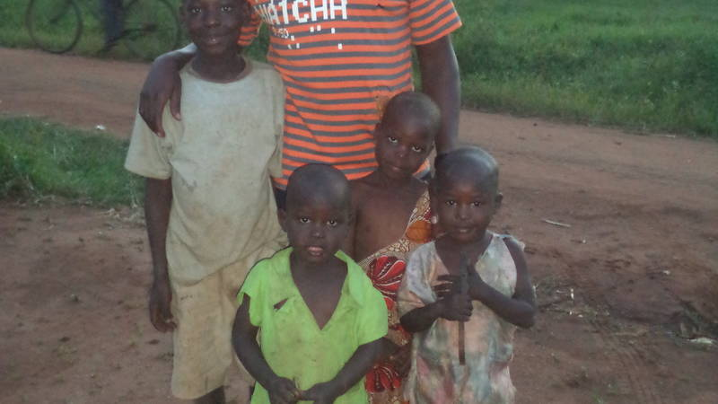 Some of the kids for the Teenage mothers