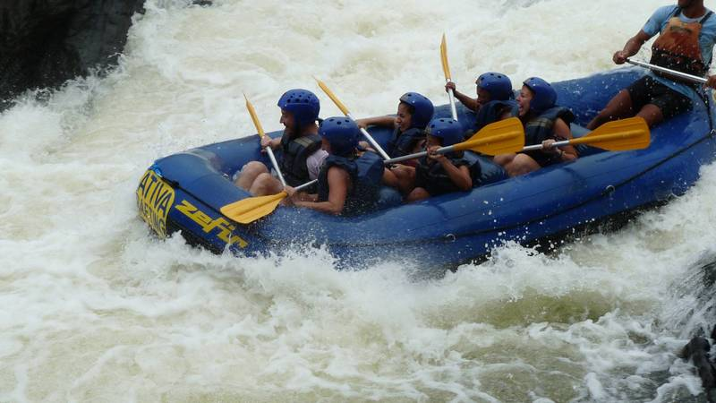 Rafting is just one of our eco adventure tours