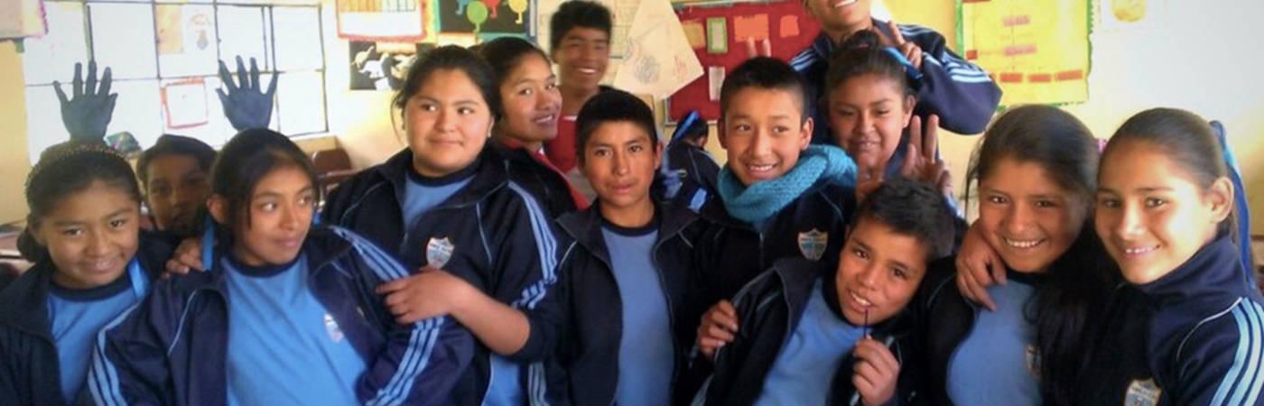 Support Teacher in a Rural School in Peru
