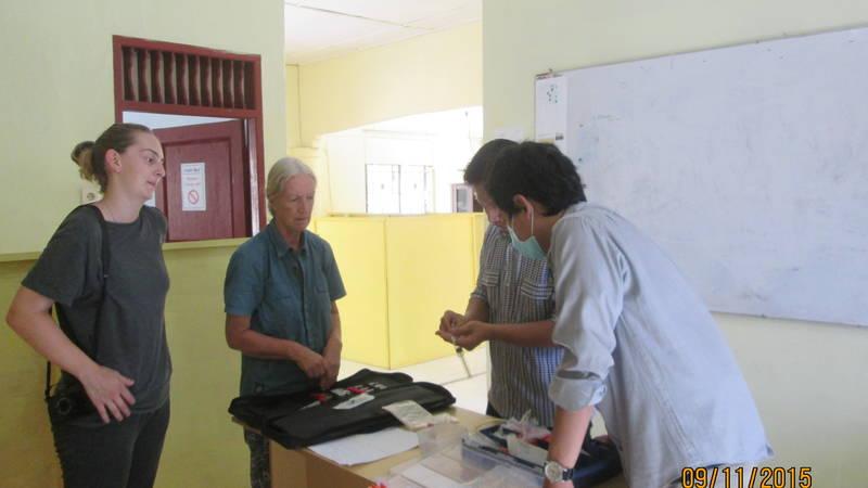 SRI staff training