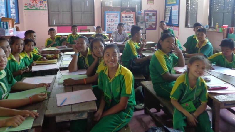A typical Thai class