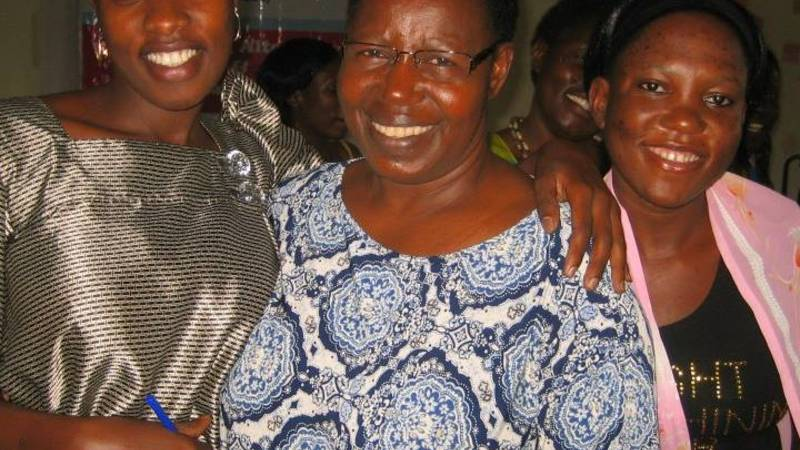 Pamela on Left the Programs Director