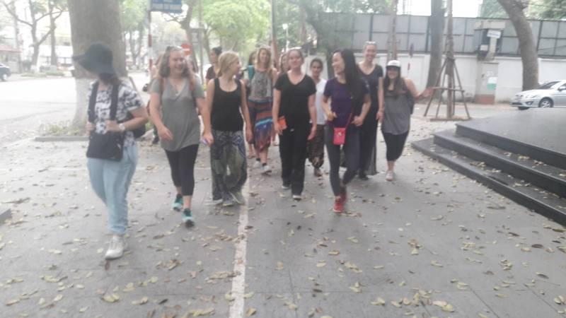 Hanoi visit
